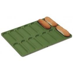 Aluminized steel tray for hot-dog