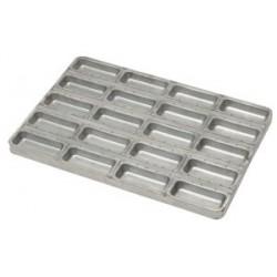 Aluminized steel tray for cakes