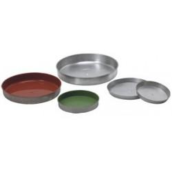 Round bread pans