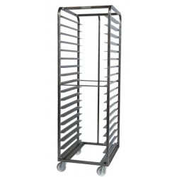 Inox storage rack